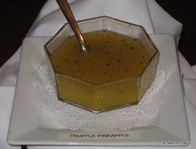 Truffle Pineapple Sauce at the Foodbuzz Cocktail Party at David Burke Townhouse | Taste As You Go