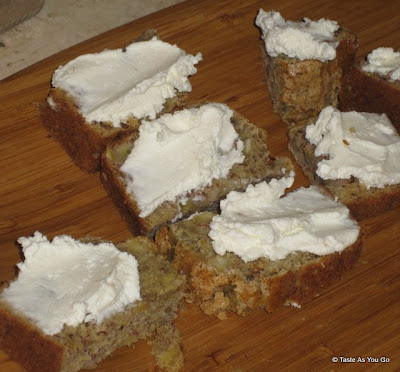 Banana-Almond-Bread-Cream-Cheese-Provisions-New-York-NY-tasteasyougo.com