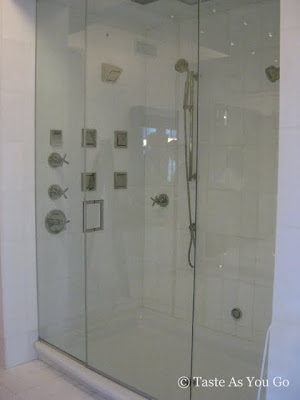 Shower at Robert Verdi's Luxe Laboratory in New York, NY | Taste As You Go