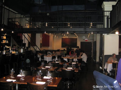 Interior of Craftbar in New York, NY - Photo by Taste As You Go