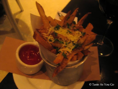 Truffle Parmesan Fries at Cafeteria in New York, NY - Photo by Taste As You Go