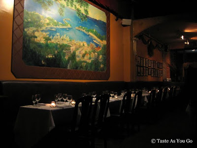 Interior of Sapori d'Ischia in Woodside, NY - Photo by Taste As You Go
