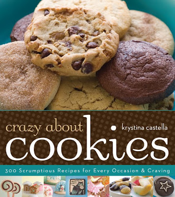 Crazy About Cookies Cover - Courtesy of Sterling Publishing