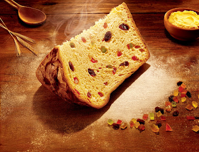 Panettone Slice - Photo Courtesy of Y&L PR