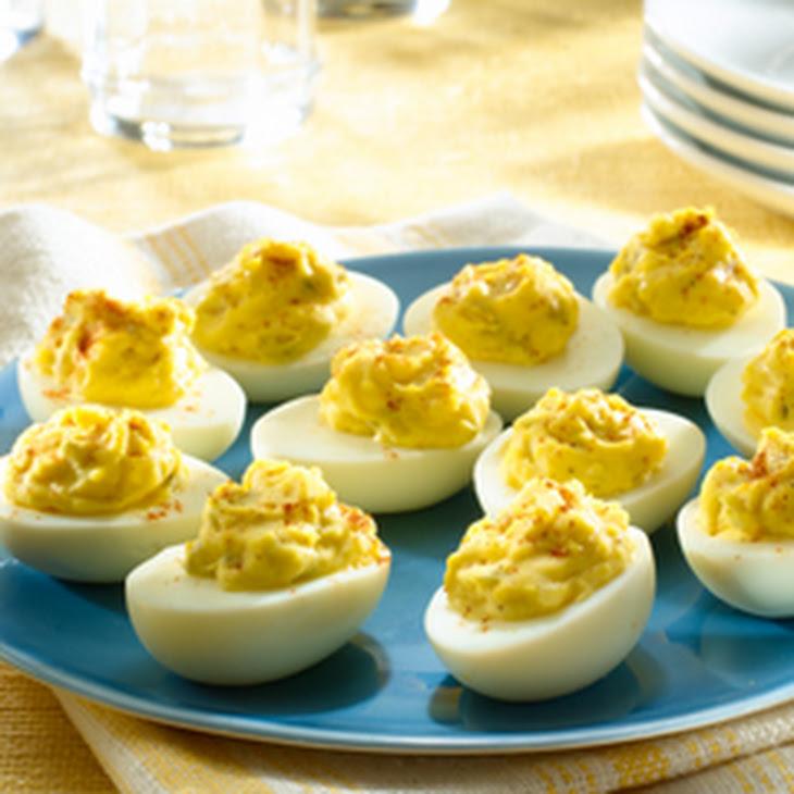 Driver's Deviled Eggs