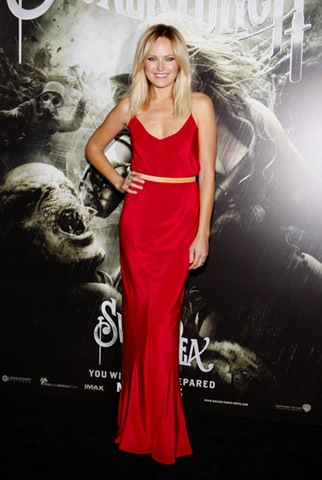 Malin Akerman Red Carpet Sucker Punch