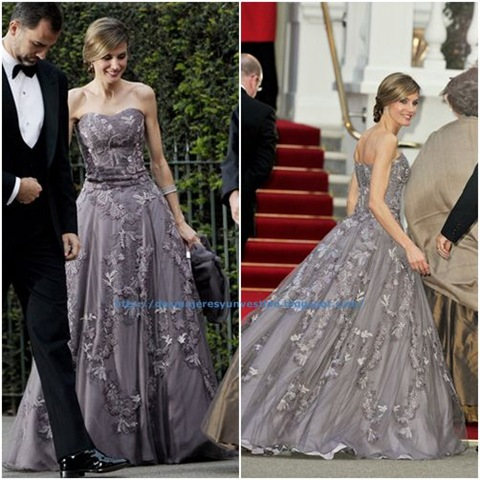 Princess Letizia Royal Wedding1