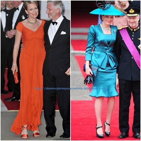 Princess Mathilde Royal Wedding