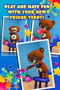 Talking Teddy Bear Free- screenshot thumbnail