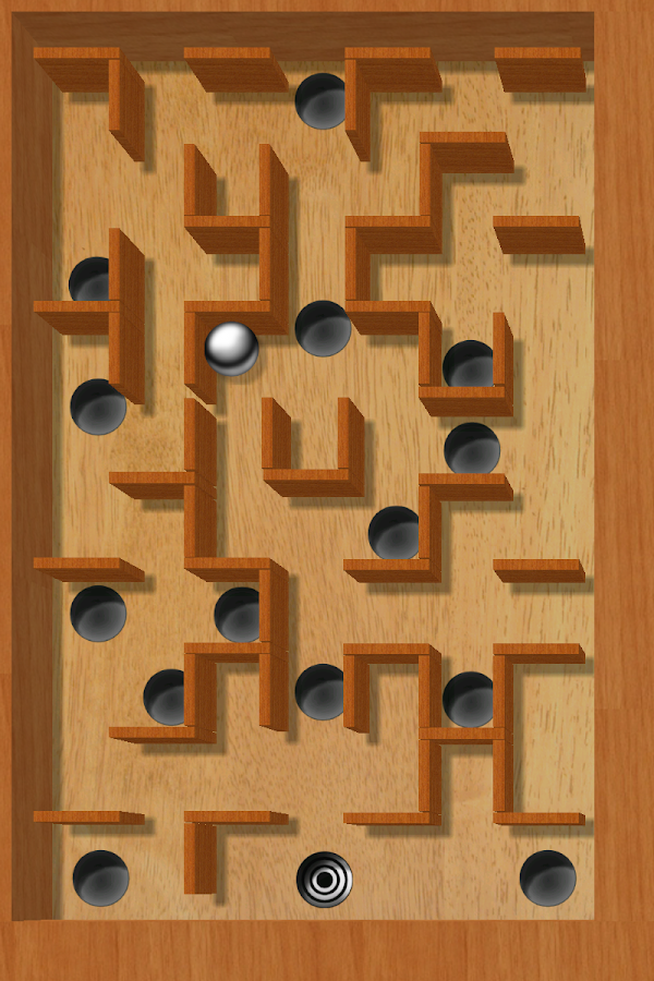aTilt 3D Labyrinth- screenshot