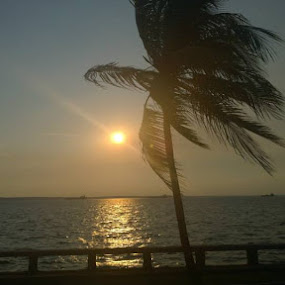 sunset in cienfuegos by Lejla Hadziabdic - Landscapes Sunsets & Sunrises