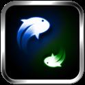 Yin Yang Koi Fish LWP icon