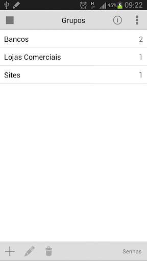 【免費生產應用App】Gerenciador de Senhas-APP點子
