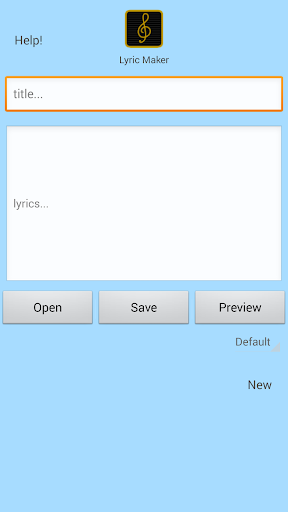 Lyric Maker Write Songs