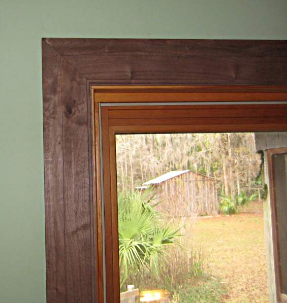 Window trim miters