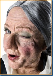 old women mask