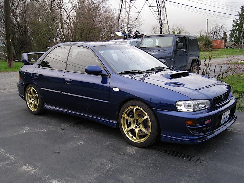 Stoptech Brake Pads >> FS: WA 2000 Impreza 2.5RS-T Sedan BRP - Subaru Impreza WRX ...