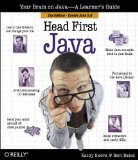 Head First Java by Kathy Sierra and Bert Bates, cover image.