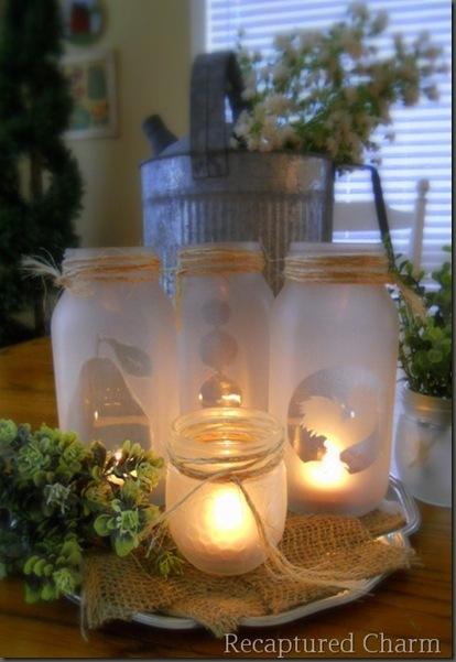 Diy Christmas Tea Lights Periwinkle Confessions