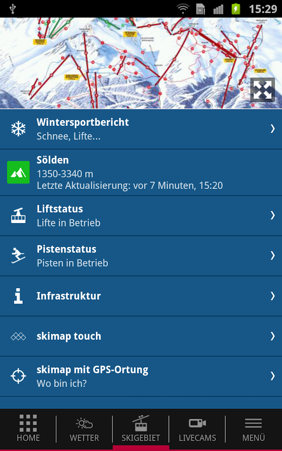 iSölden- screenshot