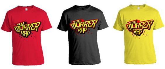 T-Shirts 3 Cores