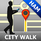 Hamburg Map and Walks