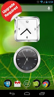 Android Clock Widget - screenshot thumbnail