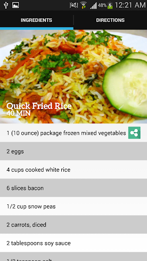 Quick Fried Rice Recipes