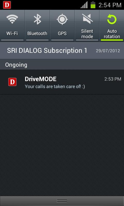 DriveMODE(Auto Loudspeaker)- screenshot