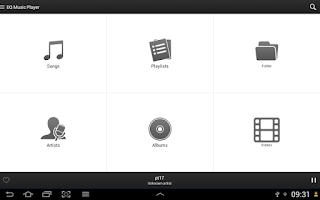 Screenshot of Equalizer Music Player