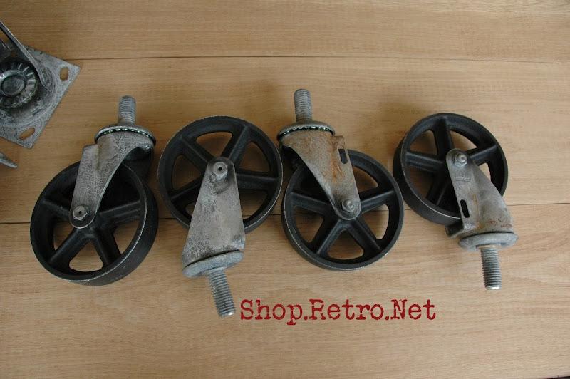 Casters 5 Inch Vintage Jpg