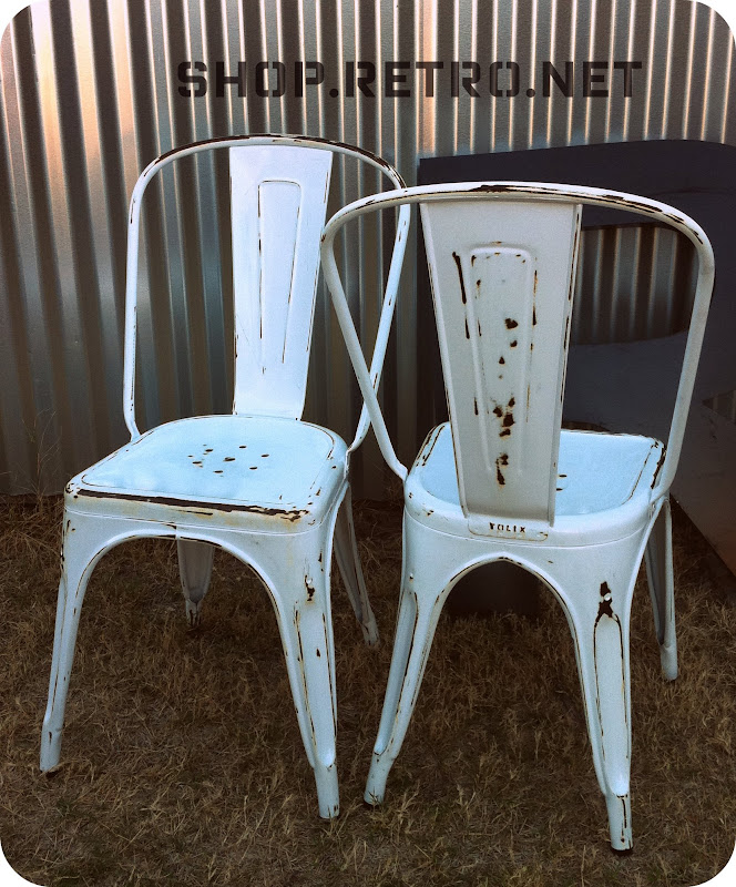 Admirable Vintage Tolix Cafe Chairs Vintage Industrial Furniture Theyellowbook Wood Chair Design Ideas Theyellowbookinfo