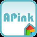 A-pink blue ver dodol theme