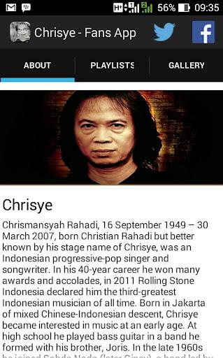 Chrisye Unofficial