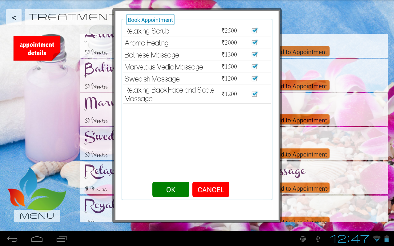 Elements spa android apps on google play for 5 elements salon
