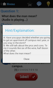 English Listening Test- screenshot thumbnail