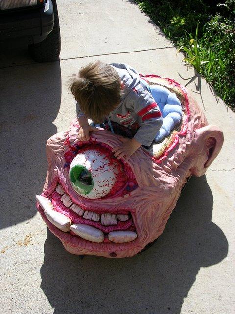 One-eyed Monster Car