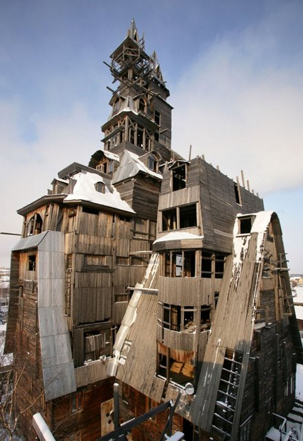 Wooden Gagster House - Archangelsk, Rusia