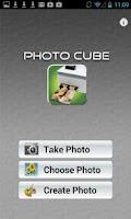 Screenshot of Photo Cube!