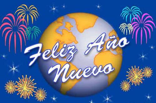 Feliz Año Nuevo animada
