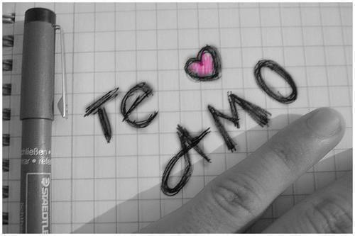 Postales Te amo