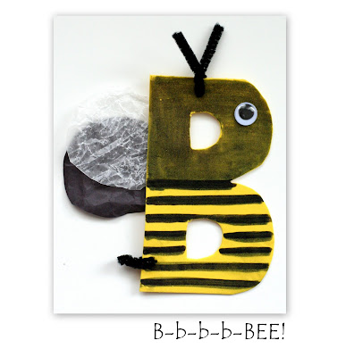 bb is for bee craft