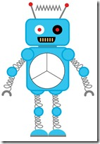Robot Preschool Pack Part 1 fractions