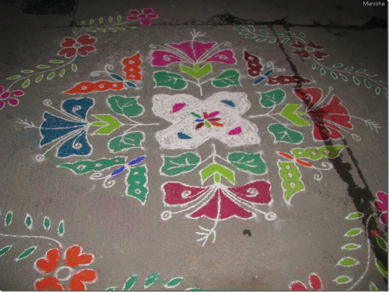 Happy New Year Rangoli 75