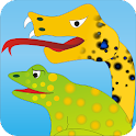 Frogs and a Snake - Kids Story icon