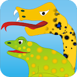 Frogs and a Snake - Kids Story Apk