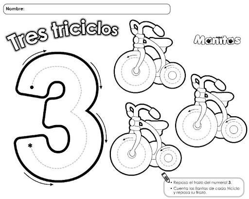 Dibujos De Los Numeros Del 1 Al 10 Para Colorear: APRENDE LOS NUMEROS CON DIBUJOS Y COLOREA