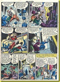 web6_7 _vintage comic book escape from volcanic islandt