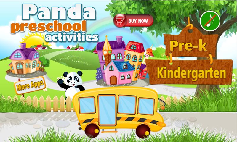 Panda Preschool Activities - Android Apps on Google Play