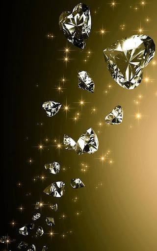 Diamonds Live Wallpaper  screenshots 3